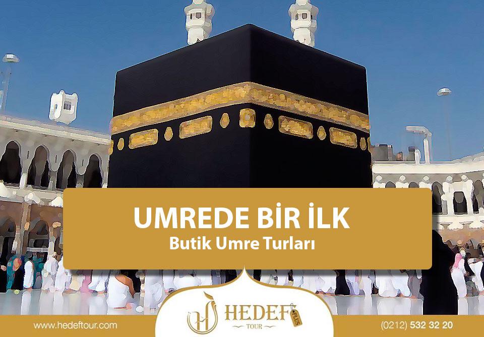 UMRE'DE BİR İLK